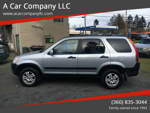 2004 Honda CR-V for sale at A Car Company LLC in Washougal WA