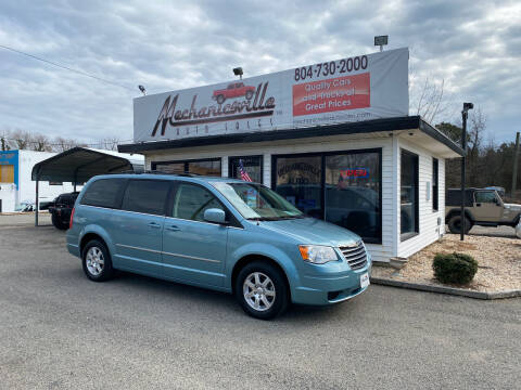 2009 Chrysler Town and Country for sale at Mechanicsville Auto Sales in Mechanicsville VA