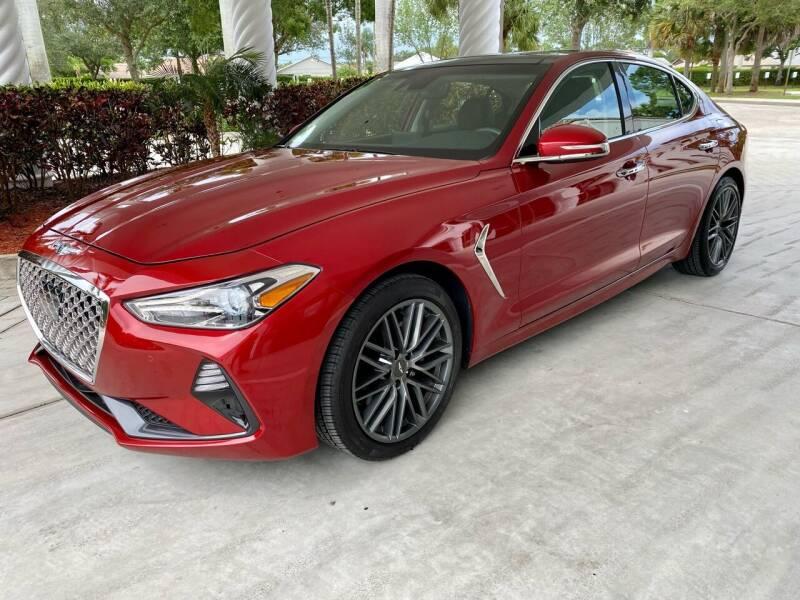2019 Genesis G70 for sale at DENMARK AUTO BROKERS in Riviera Beach FL