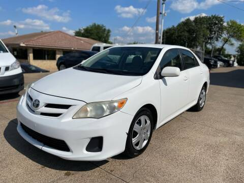 2011 Toyota Corolla for sale at CityWide Motors in Garland TX