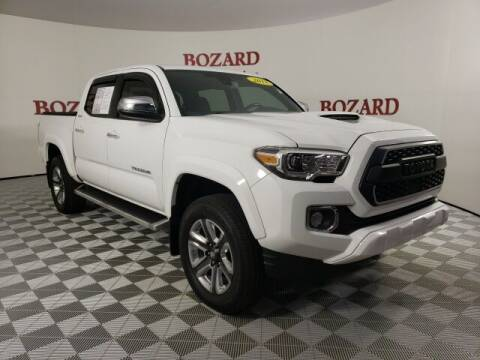 2018 Toyota Tacoma for sale at BOZARD FORD in Saint Augustine FL