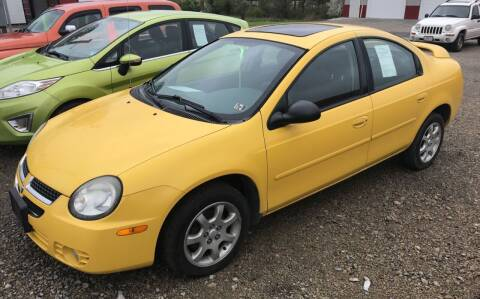 2003 Dodge Neon for sale at Simon Automotive in East Palestine OH