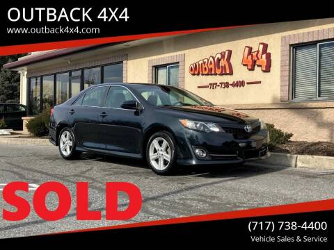 2013 Toyota Camry for sale at OUTBACK 4X4 in Ephrata PA
