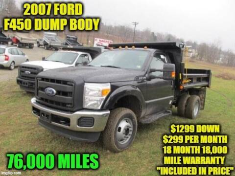 2007 Ford F-450 Super Duty for sale at D&D Auto Sales, LLC in Rowley MA
