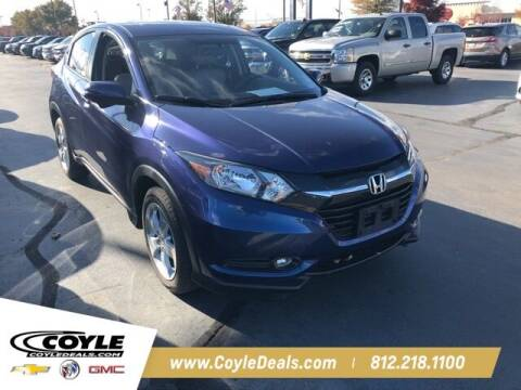 2016 Honda HR-V for sale at COYLE GM - COYLE NISSAN in Clarksville IN