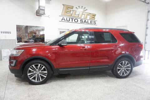 2017 Ford Explorer for sale at Elite Auto Sales in Ammon ID