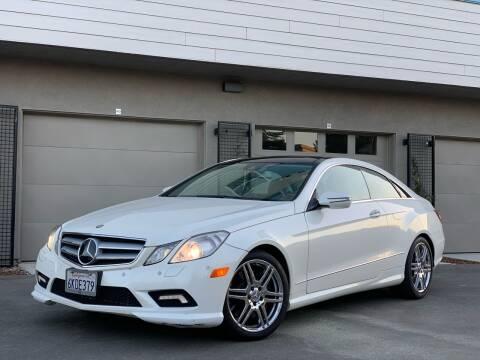 2010 Mercedes-Benz E-Class for sale at AutoAffari LLC in Sacramento CA