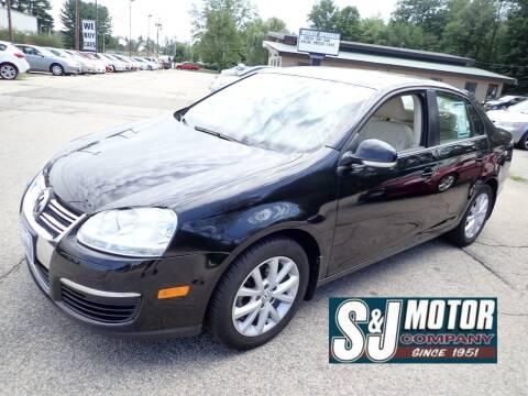 2010 Volkswagen Jetta for sale at S & J Motor Co Inc. in Merrimack NH