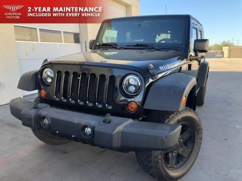 2012 Jeep Wrangler Unlimited for sale at European Motors Inc in Plano TX