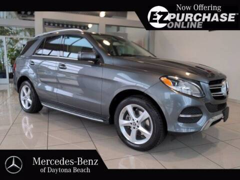 2017 Mercedes-Benz GLE for sale at Mercedes-Benz of Daytona Beach in Daytona Beach FL