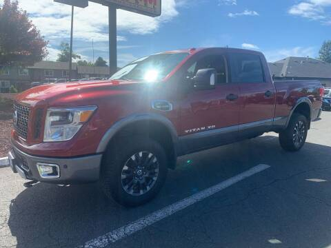2016 Nissan Titan XD for sale at South Commercial Auto Sales in Salem OR