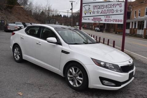 2011 Kia Optima for sale at Frenchy's Auto LLC. in Pittsburgh PA