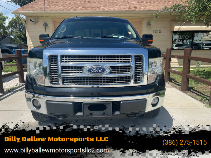 2011 Ford F-150 for sale at Billy Ballew Motorsports LLC in Daytona Beach FL