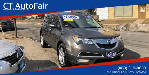 2012 Acura MDX for sale at CT AutoFair in West Hartford CT