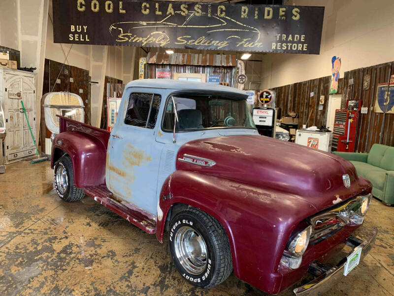 1956 Ford F-100 for sale at Cool Classic Rides in Redmond OR