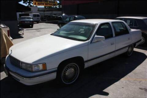 1994 Cadillac DeVille for sale at Frank Corrente Cadillac Corner in Hollywood CA