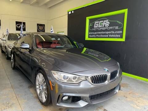 2017 BMW 4 Series for sale at GCR MOTORSPORTS in Hollywood FL