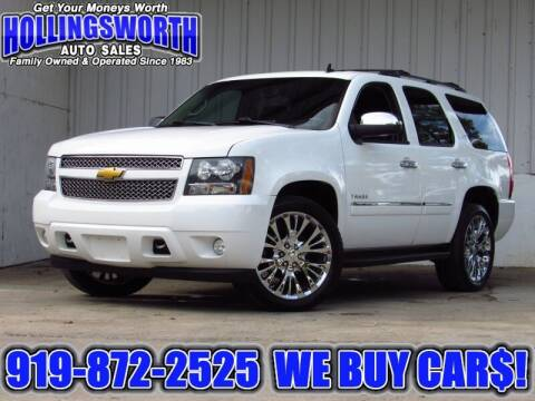 2012 Chevrolet Tahoe for sale at Hollingsworth Auto Sales in Raleigh NC