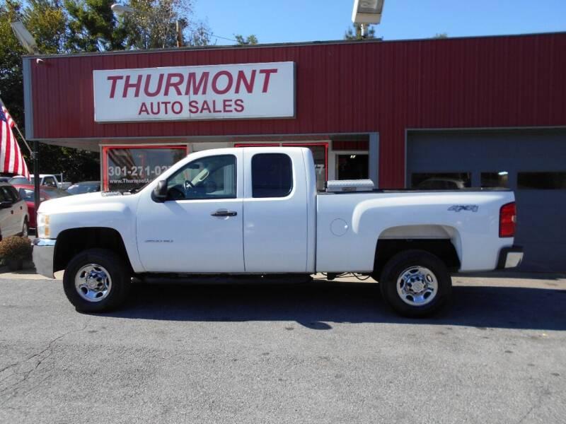2010 Chevrolet Silverado 2500HD for sale at THURMONT AUTO SALES in Thurmont MD