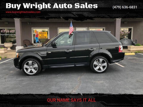 2010 Land Rover Range Rover Sport for sale at Buy Wright Auto Sales in Rogers AR