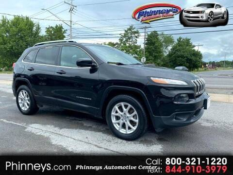 2016 Jeep Cherokee for sale at Phinney's Automotive Center in Clayton NY