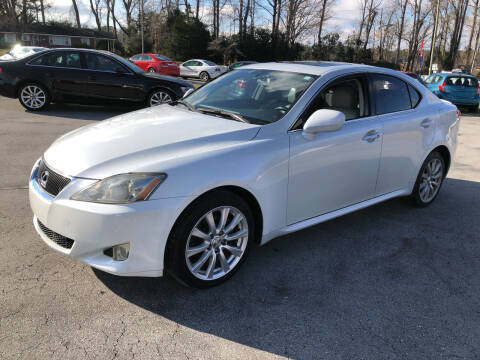 2008 Lexus IS 250 for sale at IH Auto Sales in Jacksonville NC