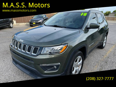 2018 Jeep Compass for sale at M.A.S.S. Motors - MASS MOTORS in Boise ID