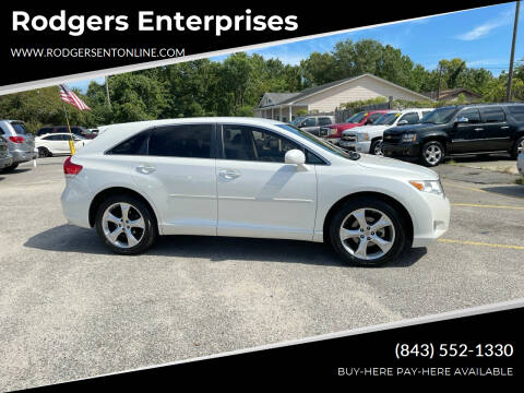 2009 Toyota Venza for sale at Rodgers Enterprises in North Charleston SC