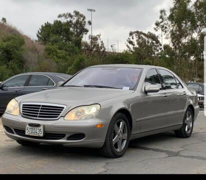 2004 Mercedes-Benz S-Class for sale at Legend Auto Sales Inc in Lemon Grove CA