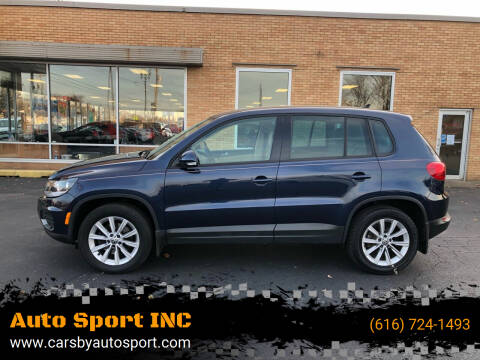 2014 Volkswagen Tiguan for sale at Auto Sport INC in Grand Rapids MI