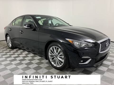 2021 Infiniti Q50 for sale at Infiniti Stuart in Stuart FL