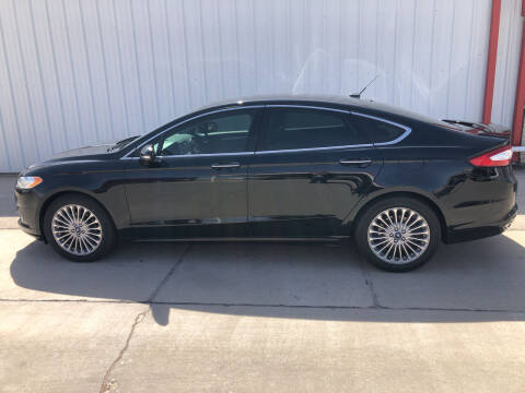 2016 Ford Fusion for sale at WESTERN MOTOR COMPANY in Hobbs NM