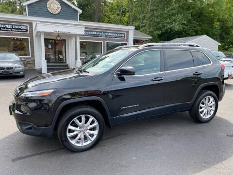 2014 Jeep Cherokee for sale at Ocean State Auto Sales in Johnston RI