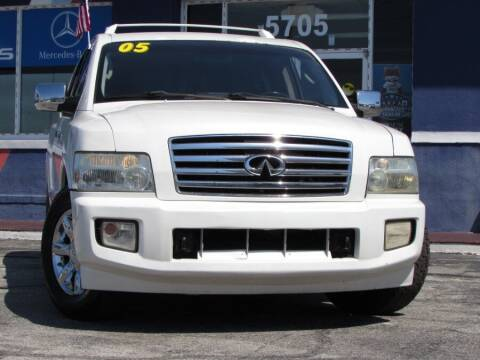 2005 Infiniti QX56 for sale at VIP AUTO ENTERPRISE INC. in Orlando FL