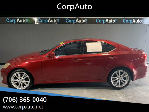 2006 Lexus IS 250 for sale at CorpAuto in Cleveland GA