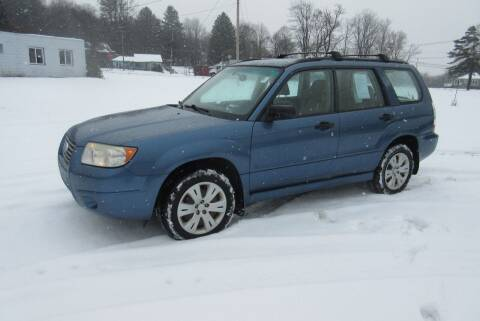 2008 Subaru Forester for sale at Clearwater Motor Car in Jamestown NY