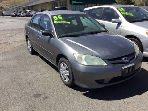 2005 Honda Civic for sale at Small Car Motors in Carson City NV