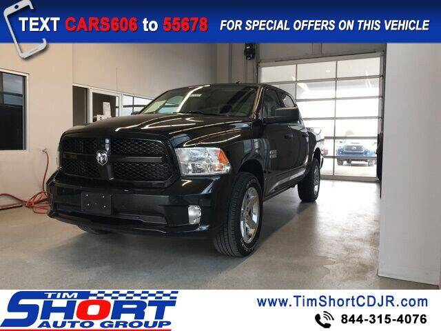 2018 RAM Ram Pickup 1500 for sale at Tim Short Chrysler in Morehead KY