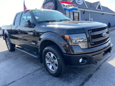 2014 Ford F-150 for sale at Cape Cod Carz in Hyannis MA