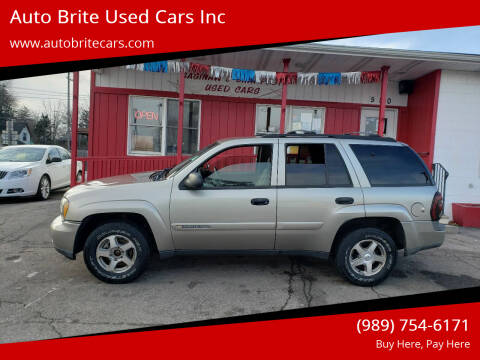 2003 Chevrolet TrailBlazer for sale at Auto Brite Used Cars Inc in Saginaw MI