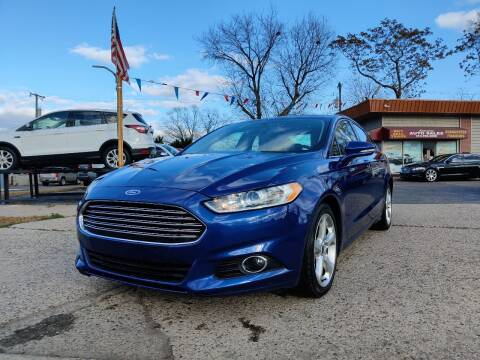 2015 Ford Fusion for sale at Lamarina Auto Sales in Dearborn Heights MI