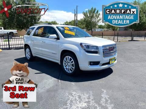 2015 GMC Acadia for sale at DUKE CITY AUTO SALES in Albuquerque NM
