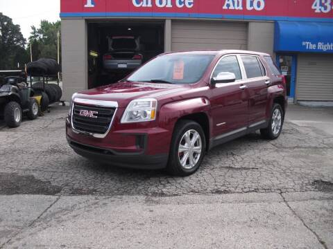 2017 GMC Terrain for sale at 1st Choice Auto Inc in Green Bay WI