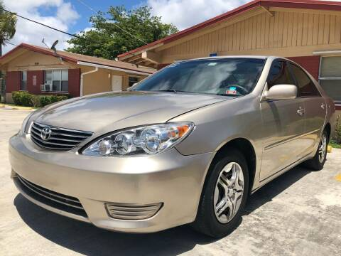 2005 Toyota Camry for sale at Eden Cars Inc in Hollywood FL