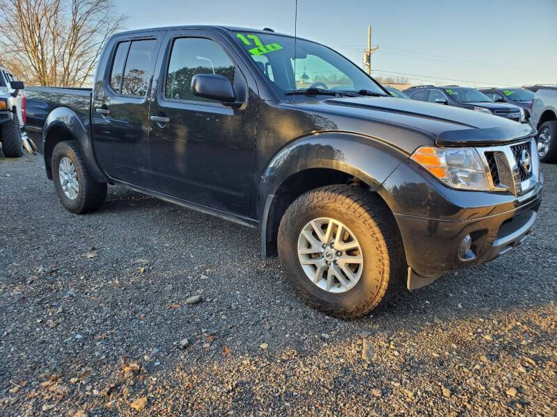 2017 Nissan Frontier 4x4 SV 4dr Crew Cab 5 ft. SB 5A (midyear release) - Wellsboro PA