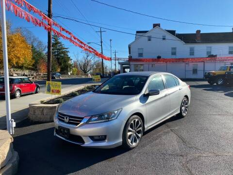 2014 Honda Accord for sale at FIESTA MOTORS in Hagerstown MD