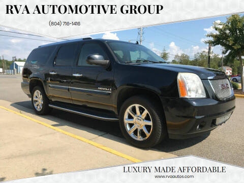 2008 GMC Yukon XL for sale at RVA Automotive Group in North Chesterfield VA