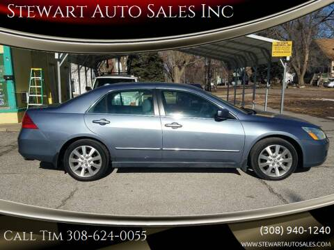 2007 Honda Accord for sale at Stewart Auto Sales Inc in Central City NE