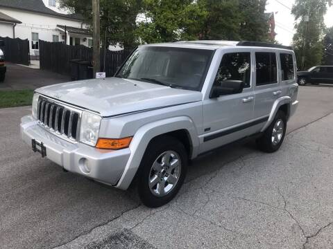 2007 Jeep Commander for sale at Eddie's Auto Sales in Jeffersonville IN
