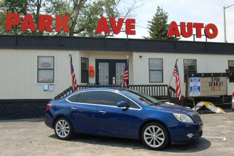 2013 Buick Verano for sale at Park Ave Auto Inc. in Worcester MA
